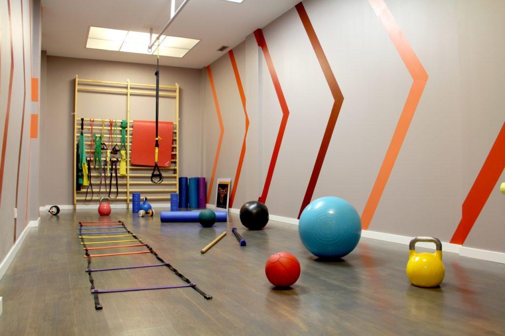 sala entrenamiento Barrena Craus