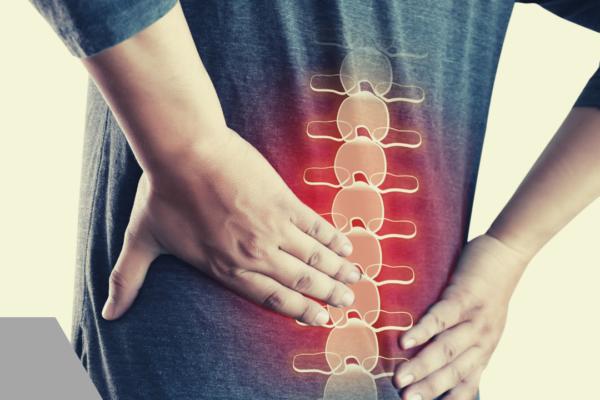 Dolor de espalda y columna vertebral